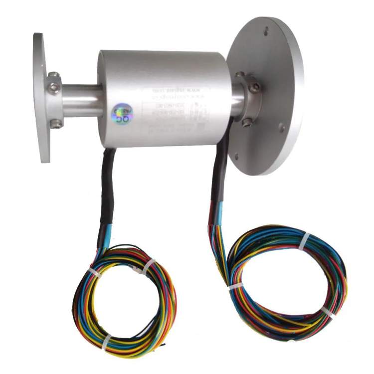 Customized flange install high quality slip ring